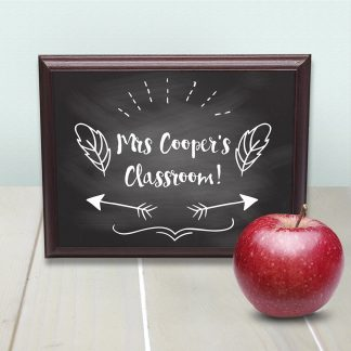 Personalised Teacher's Classroom Sign