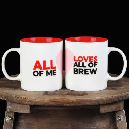 Musicology Duo Mug Set - All Of Me Loves All Of Brew