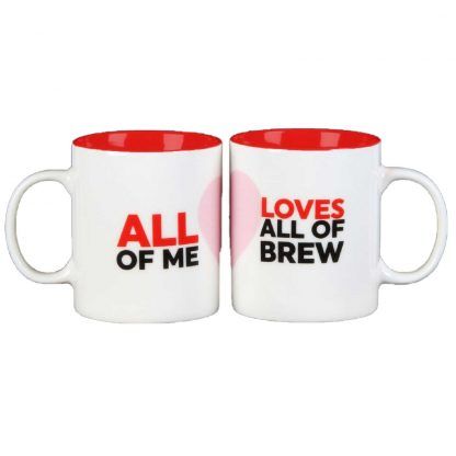 Musicology Duo Mug Set - All Of Me Loves All Of Brew HM1501
