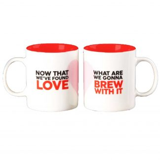 Musicology Duo Mug Set - Now That We Found Love HM1502
