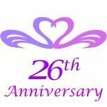 26th Wedding Anniversary Gifts