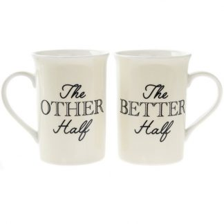 OTHER HALF BETTER HALF MUGS