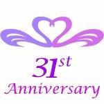 31st wedding anniversary gifts