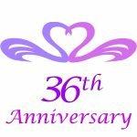 36th wedding anniversary gifts