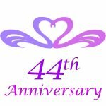 44th wedding anniversary gifts