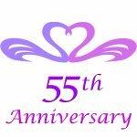 55th wedding anniversary gifts