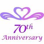 70th wedding anniversary gifts
