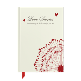 Love Stories : Anniversary & Relationship Journal front cover