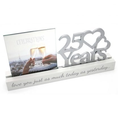25 years Celebrations Photo Frame for 4 x 4 print wg100725 frame