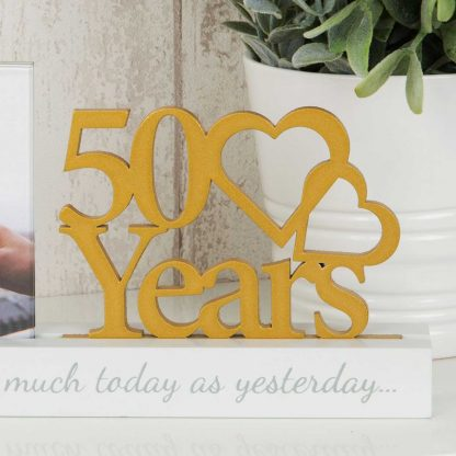 50 years Celebrations Photo Frame for 4 x 4 print wg100750