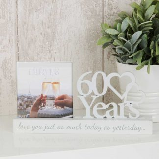 60 years Celebrations Photo Frame wg100760
