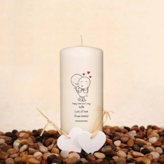 Chilli & Bubbles Valentine's Candle