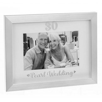 Pearl Wedding Photo Frame 290329 30th Anniversary