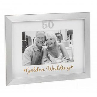 Golden Wedding Photo Frame 290331 50th Anniversary