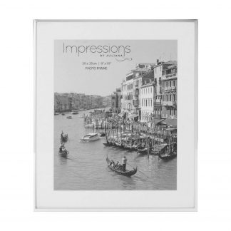 Impressions Silver Fine Edged Photo Frame fs16080