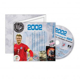 2002 Classic Years Greeting Card with Hit Songs, Download Code and retro CD