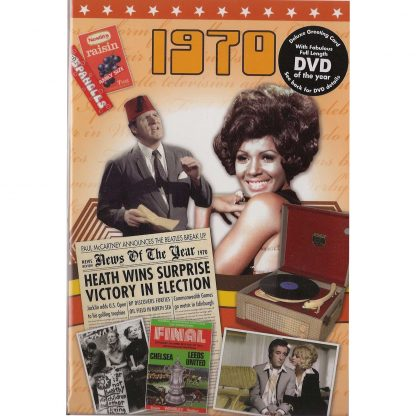 Reminisce 1970 with DVD and Greeting Card