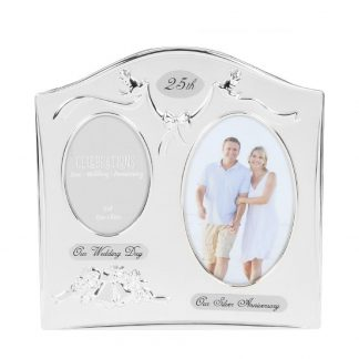 Celebrations Silver 25th Anniversary Wedding Gift