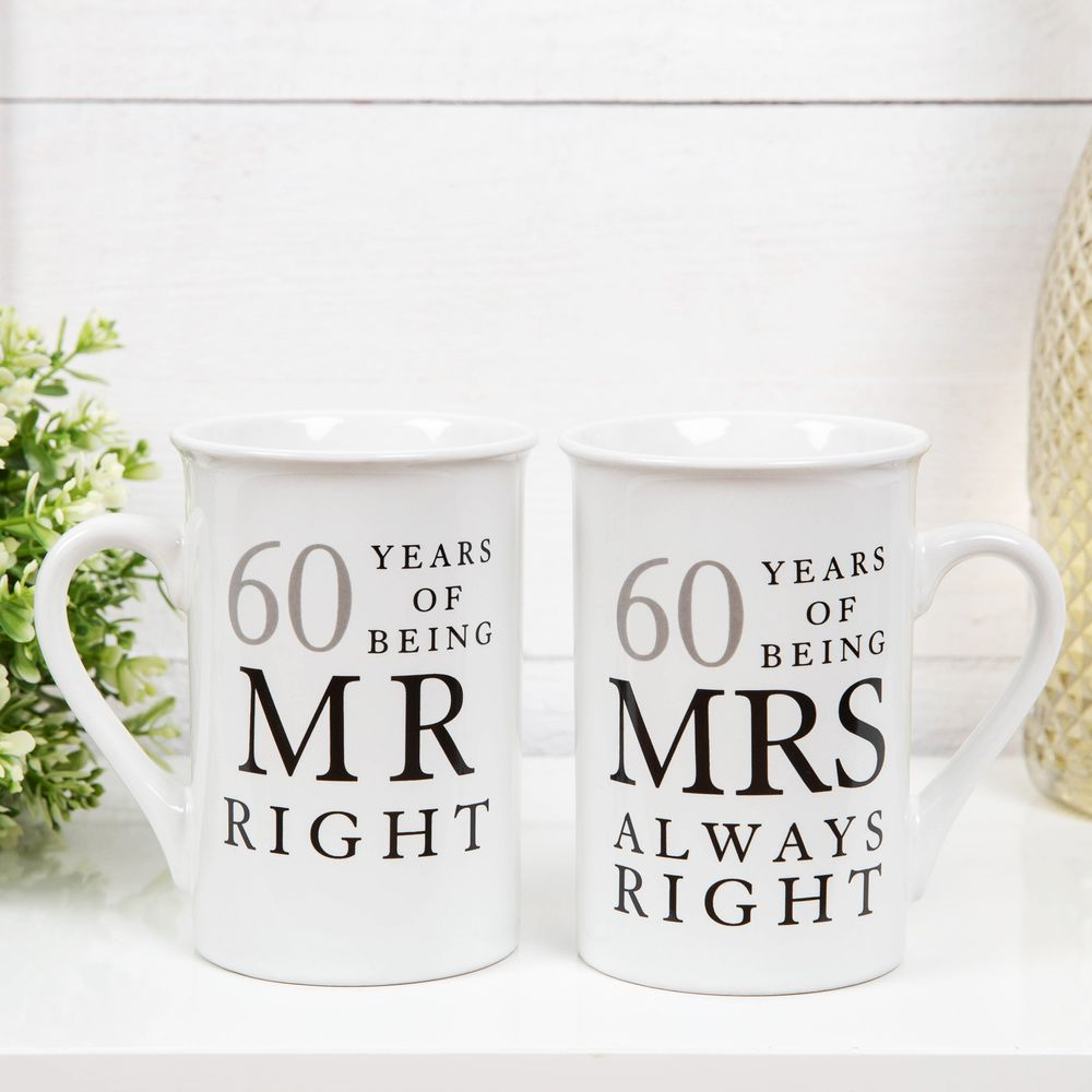 60 Years Mr and Mrs Right