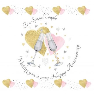 To a Special Couple Anniversary Greeting Card