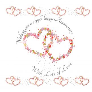 Wishing you a very Happy Anniversary Greeting Card