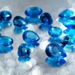 gemstone wedding anniversary gifts aquamarine