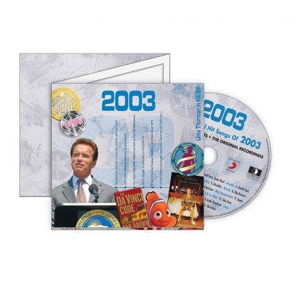 Hit Music CD from 2003 & Greeting Card